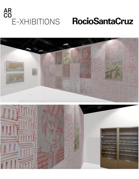 IAC | Rocío Santa Cruz - ARCO E-xhibition #1 Gonzalo Elvira / Mar Arza
